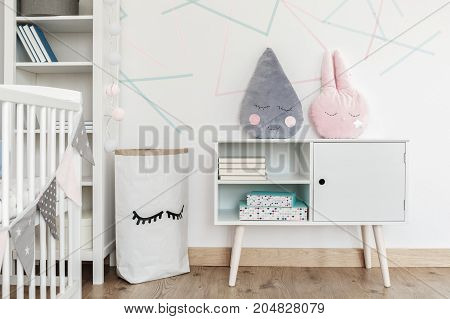 Kid's Room With Paper Bag