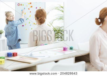 Girl In Blue Shirt