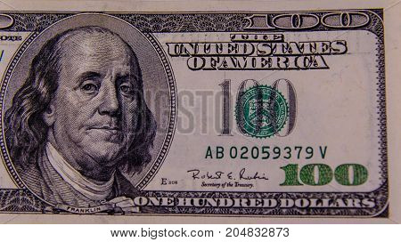 Close-up Photo Of One Hundred Dollars Bill