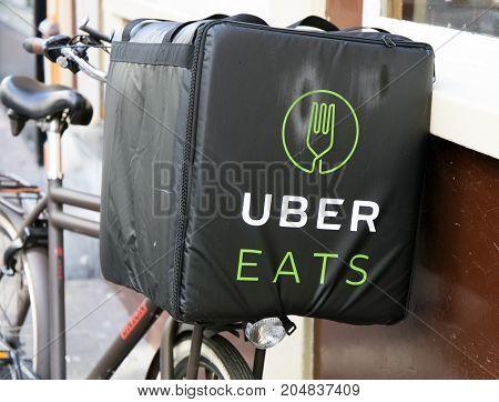 Uber Eats Bicycle