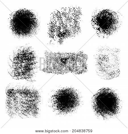 Grunge Texture, Abstract Stock Vector Template