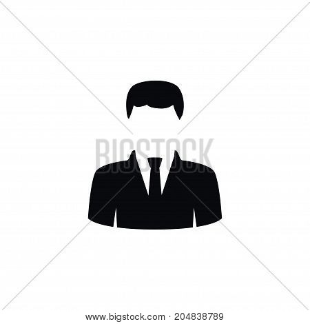 President Vector Element Can Be Used For President, Statesman, Politician Design Concept.  Isolated Statesman Icon.