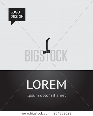 Vector Illustration Of Equipment Symbol On Crowbar Icon
