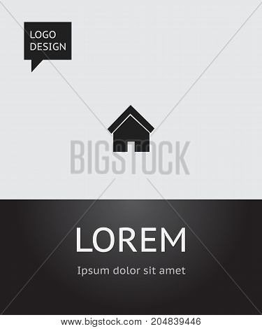 Vector Illustration Of Network Symbol On House Icon