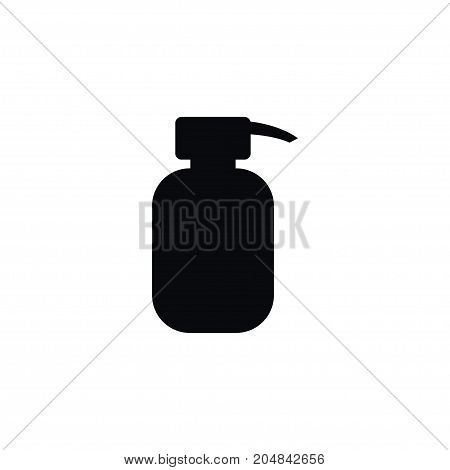 Lotion Vector Element Can Be Used For Soap, Hand, Sanitizes Design Concept.  Isolated Hand Sanitizes Icon.