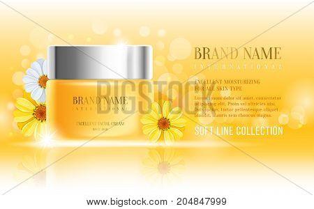 Cosmetics Advertisement