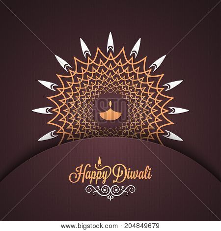 Diwali vintage card design background 10 eps