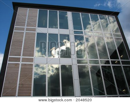 Glass Window Reflections