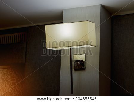 classic lamp at meeting room or conference hall