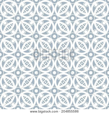 Abstract seamless pattern in vintage style. Interlocking shapes and textures. Pastel colors.