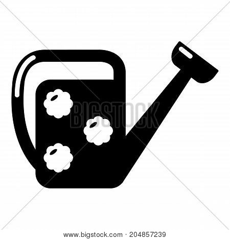 Watering can icon . Simple illustration of watering can vector icon for web design isolated on white background