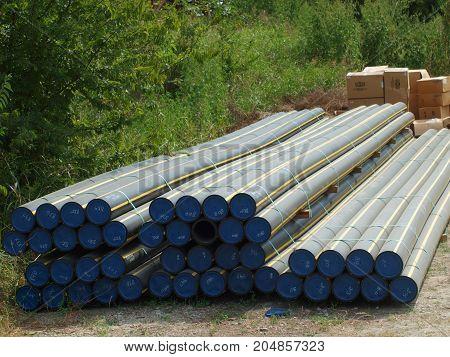 Underground Gas Pipeline for Natural Gas Pressurized