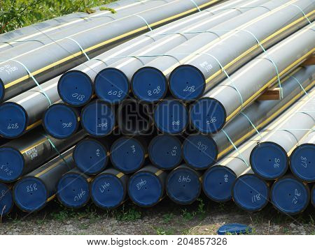 An ASTM certified Natural Gas Poly Pipe Line Pipe