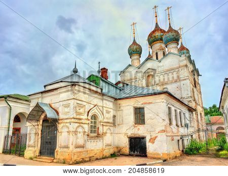 Church of the Savior at the Market in Rostov Veliky, the Golden ring of Russia.