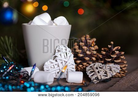 New Year Card - Cup