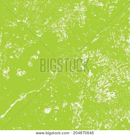 Distress Green Grunge Texture For Your Design. EPS10 vector.