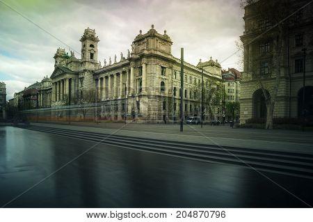Budapest Museum of Ethnography Landmark Kossuth Lajos Square