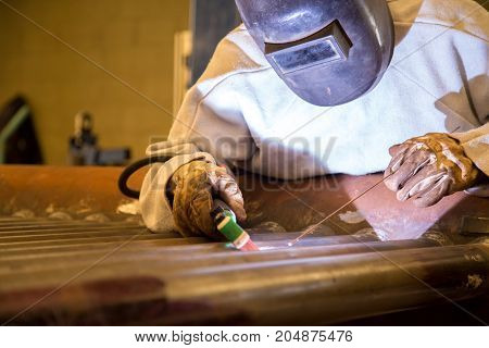 Welder Industrial Worker