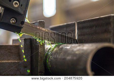 Industrial Cut Tube Machine