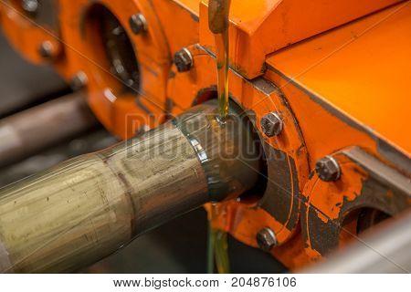 Tube Narrowing Boiler Machine
