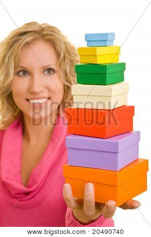 Woman Offering Seven Gifts
