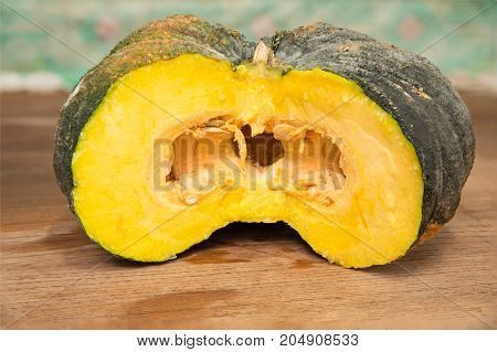 Thai Pumpkin Ingredient for making food - stock image