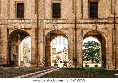 Pilotta Palace In Parma