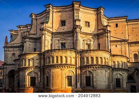 The Santissima Annunziata Church In Parma, Emilia-romagna, Italy