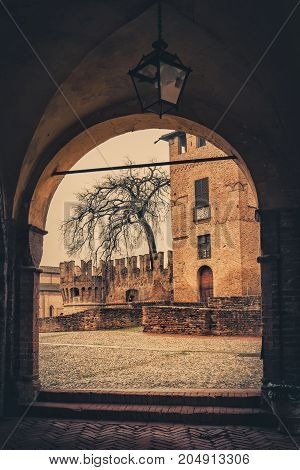 Rocca Sanvitale Castle
