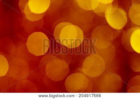 Blur Spots Bokeh Background