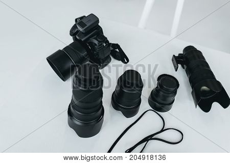 Digital Camera With Lenses