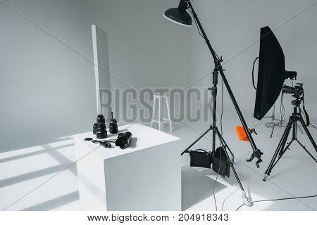 Digital Equipment In Photo Studio