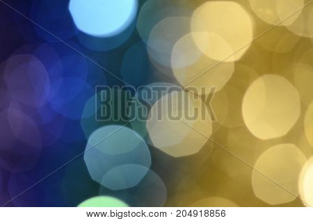 Colored blur spot bokeh  for background or texture