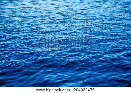 Image of sea ripple in summer day