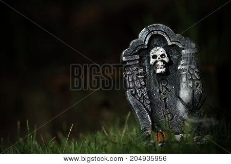 Halloween Rip Tombstone