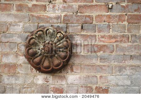 Wall Texture, Iron Flower