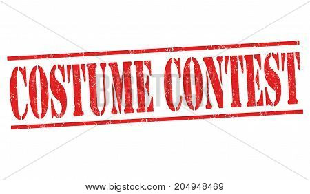 Costume Contest  Sign Or Stamp