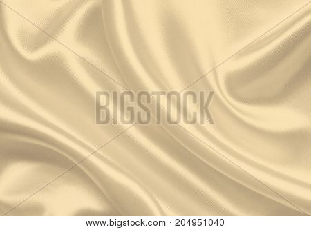 Smooth Elegant Silk As Wedding Background. In Sepia Toned. Retro Style