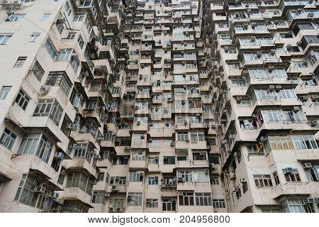 Old Buildings Located In Hong Kong