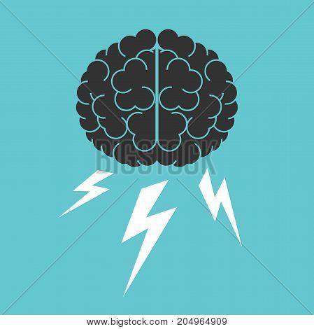 Brain, Lightnings, Brainstorming