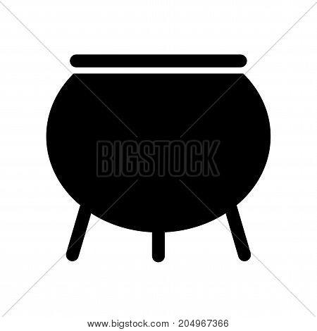 Witch Cauldron Isolated