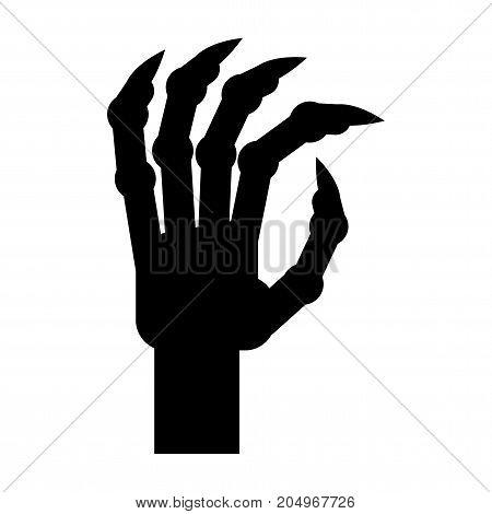 Zombie Hand Black