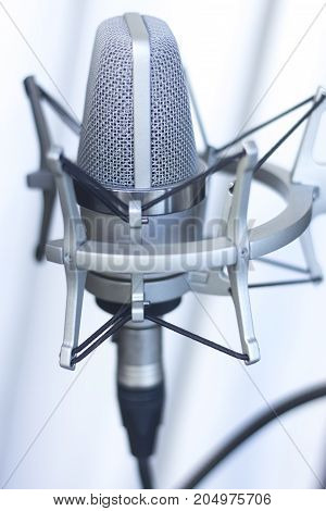 Studio Recording Voice Microphone