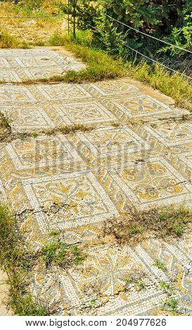 Decors Of Ancient Roman Villas, El Djem