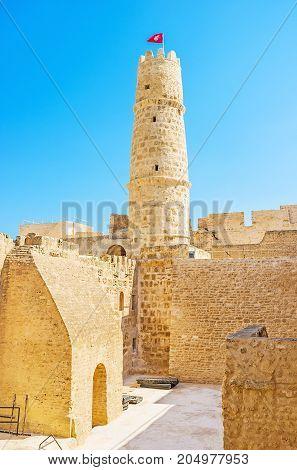 In Maze Of Ribat, Monastir