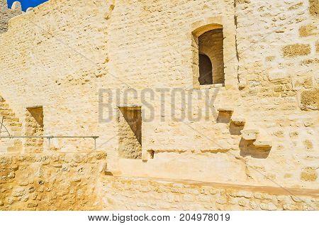 The Walls Of Ribat, Monastir