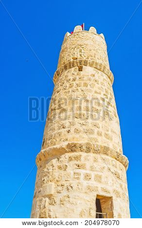 The Circle Tower Of Ribat