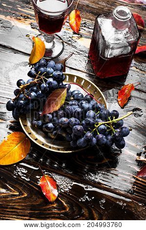 Wine From Autumn Grapes