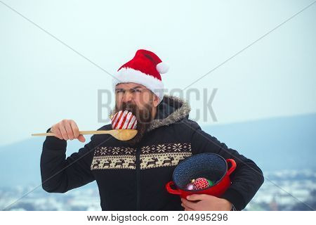 Winter Holidays Concept