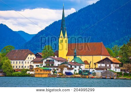 Idyllic German Lake Village Rottach Egern